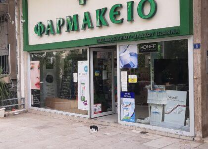 Pharmacy Antivandal Protection Covid19